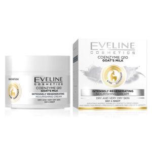 Eveline NATURE LINE +6 KOENZIM Q10 i KOZJE MLEKO krema za lice