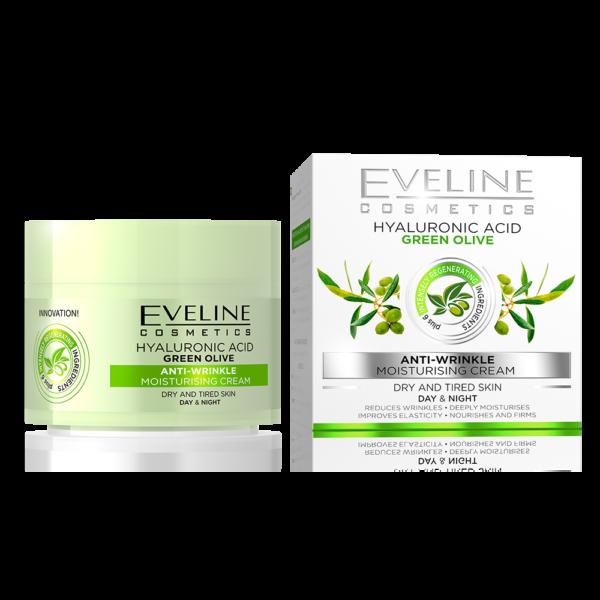 Eveline NATURE LINE +6 ZELENA MASLINA krema za lice